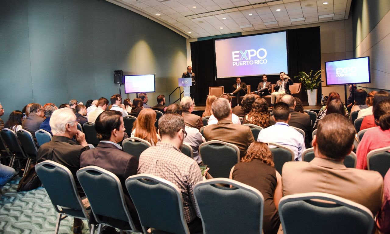 Expo Puerto Rico Exporting Services - Photo from @CCEPuertoRico Twitter Feed