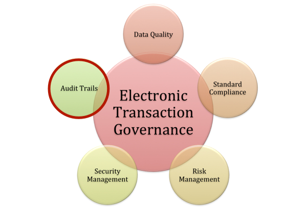 Electronic Transaction Governance: Audit Trails