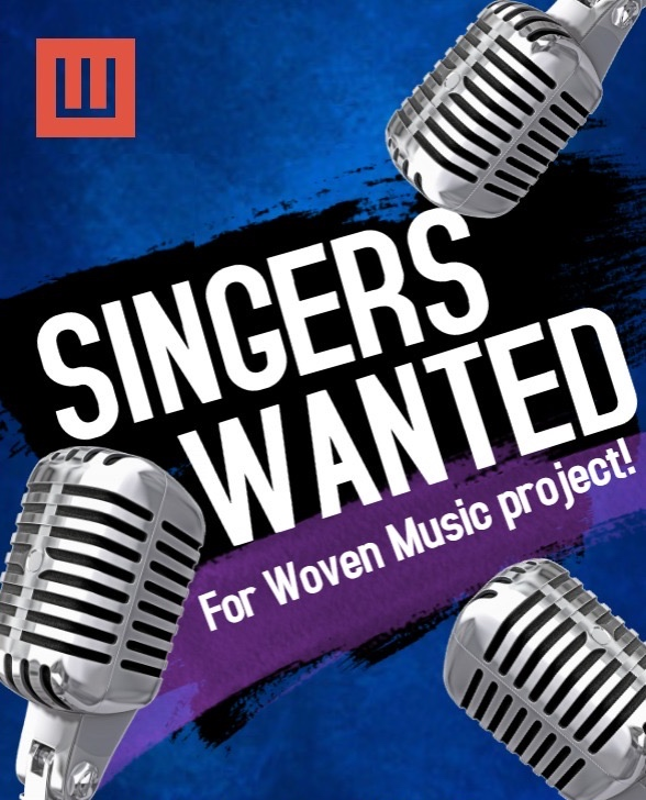 Wovenware Jam Singers Wanted Poster