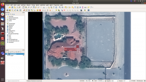 QGIS: An open source software that allows for the annotation of georeferenced images.